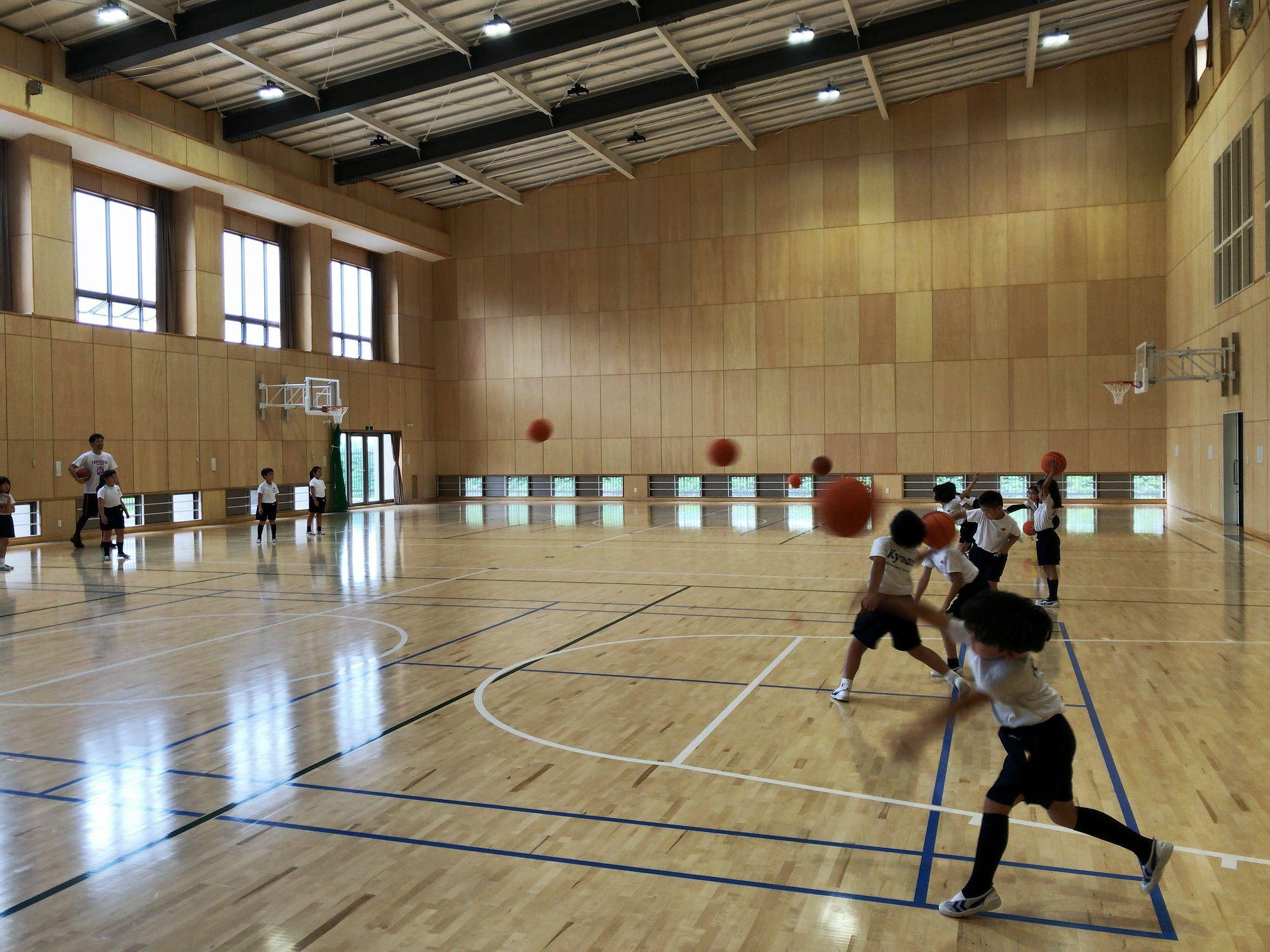 バスケットボール教室