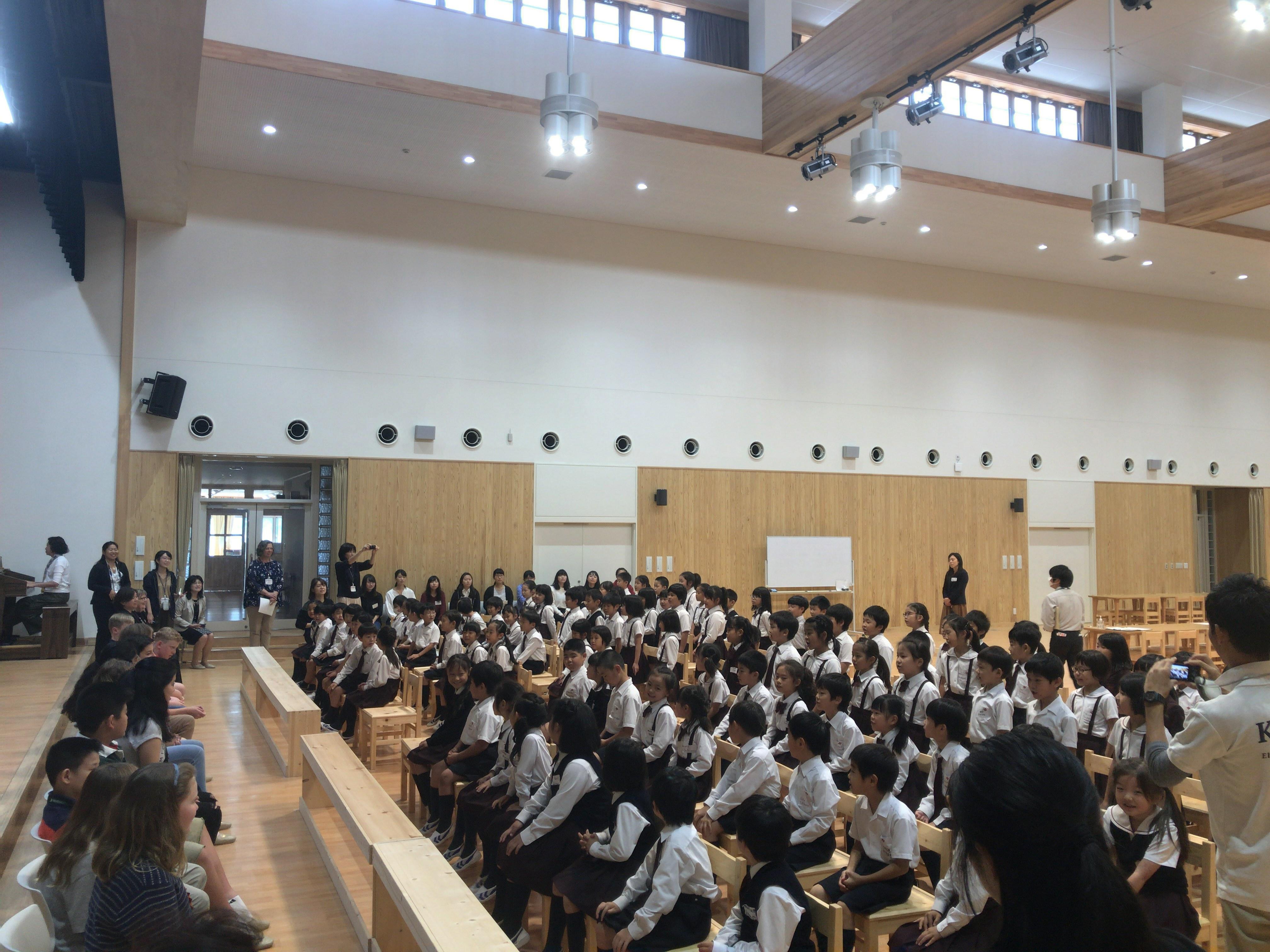 ウェストンミンスター校と交流