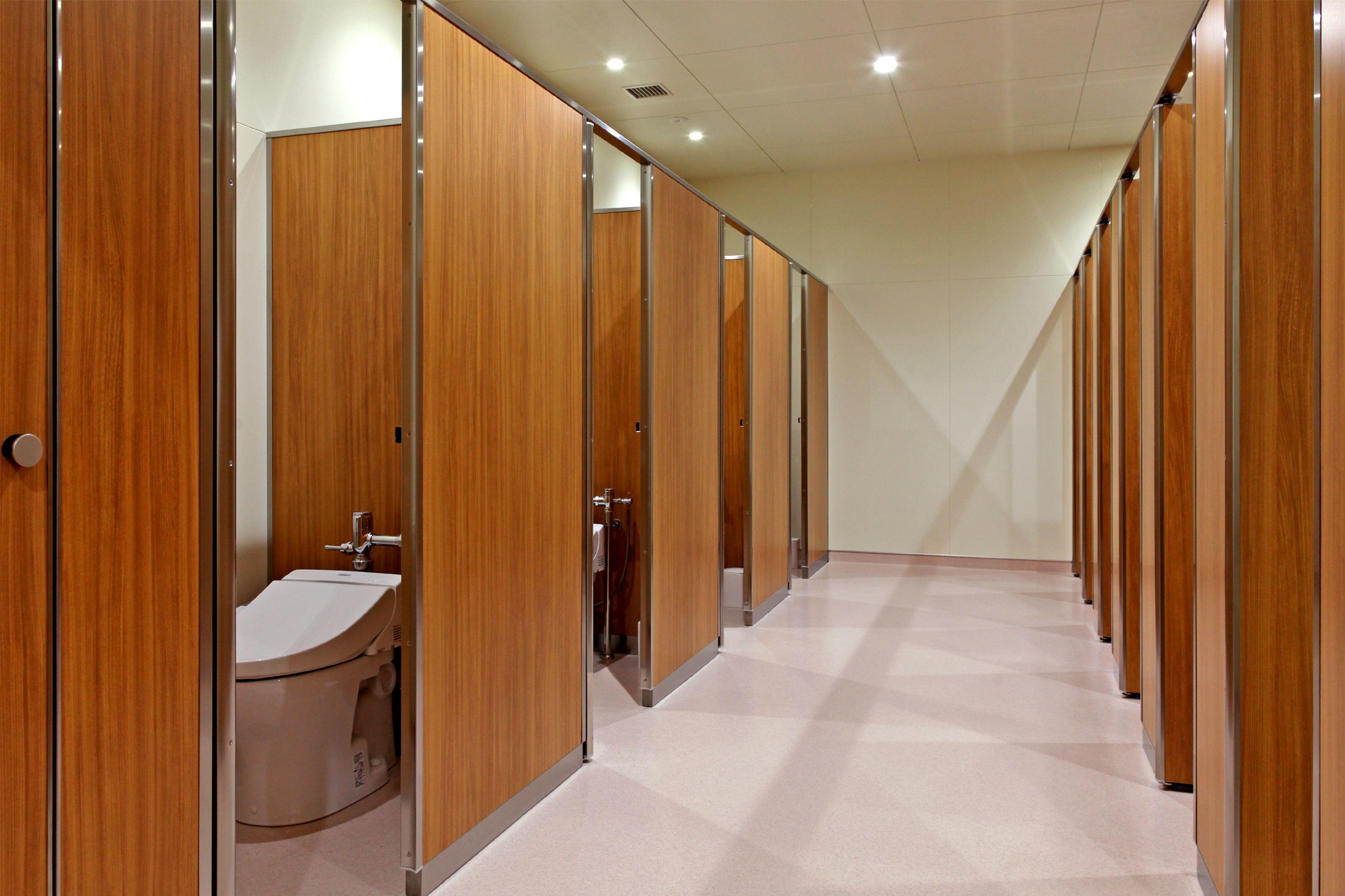 共愛学園小学校トイレ
