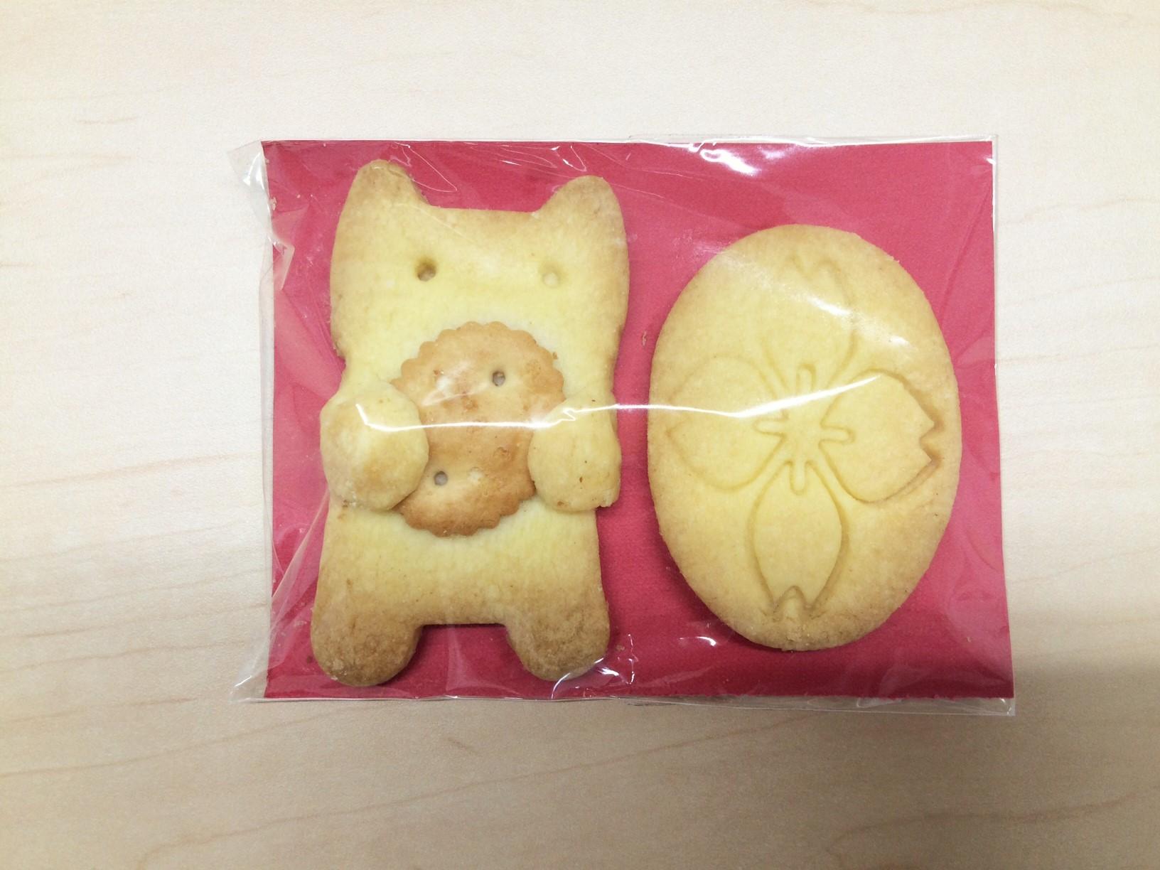 共愛学園小学校オリジナルクッキー