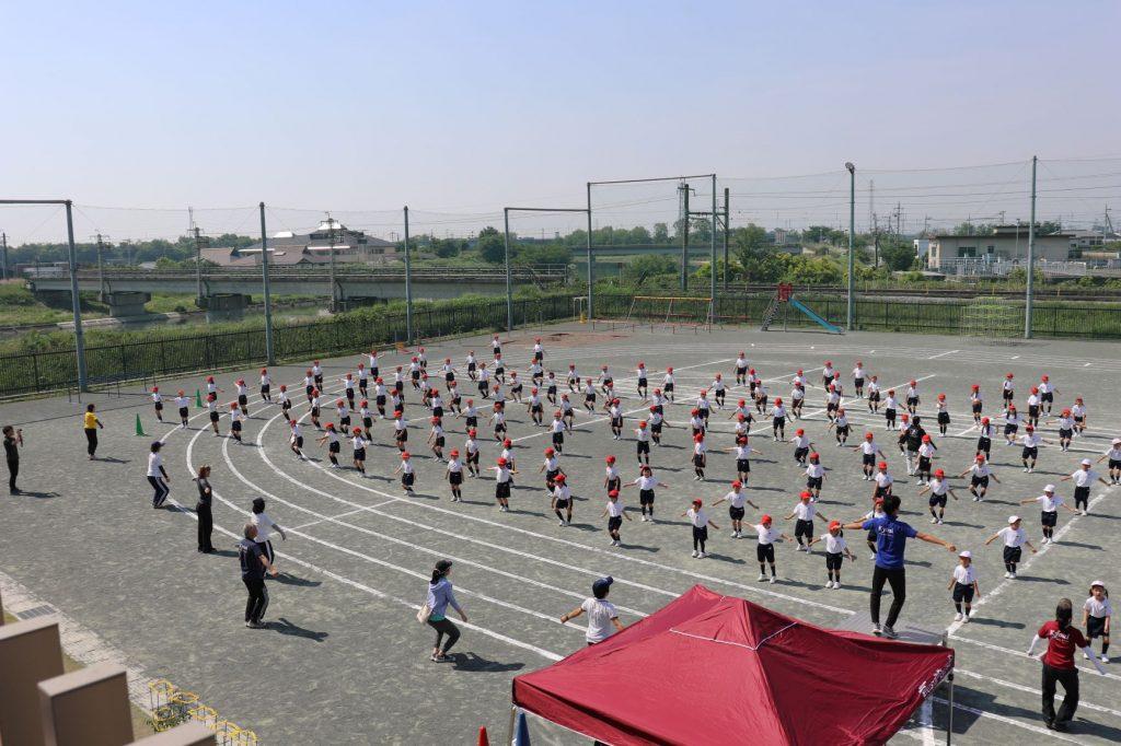 運動会全体練習1